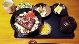 うなぎ定食in豚々魚々.jpg